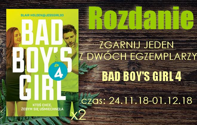 Rozdanie z Bad boy's girl 4