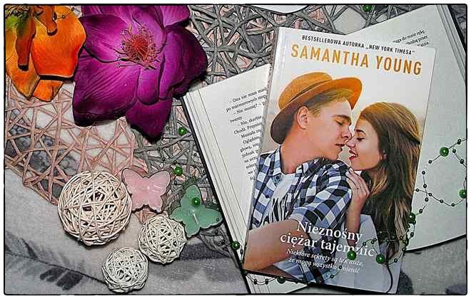 """""""Nieznośny ciężar tajemnic"""" Samantha Young"""