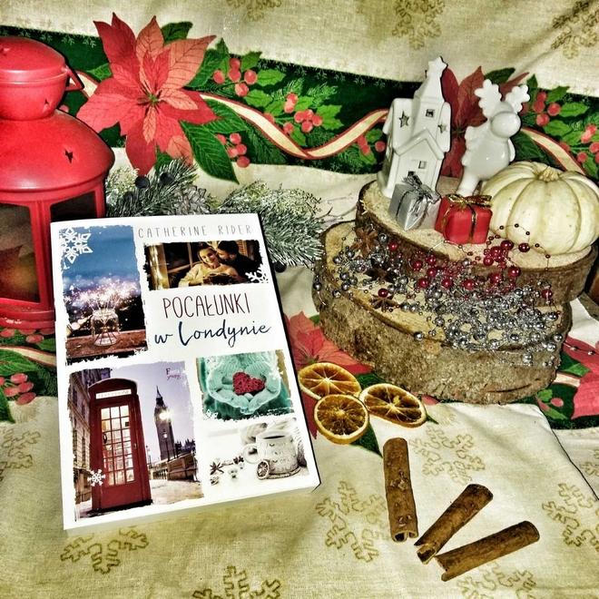 Pocałunki w Londynie Catherine Rider [ChristmasBooks]